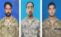 Three Army soldiers martyred, four terrorists killed in NW clash