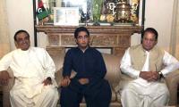 Zardari, Bilwal condole death of Begum Kulsoom with Nawaz