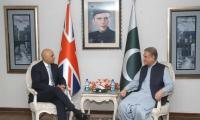 Pakistan, UK discuss regional security, money laundering