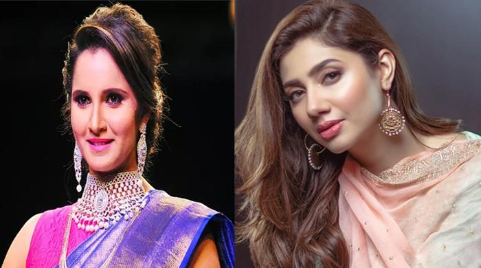 Sania Mirza, Mahira Khan exchange love for each other's young ones