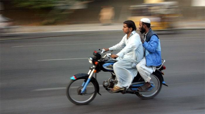 Pillion riding banned in Karachi on 8th, 9th and 10th Muharram