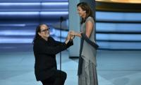 Political Emmys surprise with live proposal, grab bag of winners