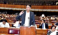 PTI presents mini-budget: Asad Umar says 'difficult times call for difficult measures'