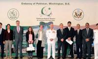 Naval chief holds meeting with US officials