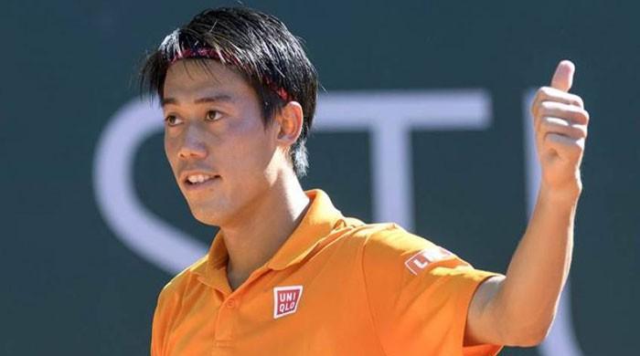 Nishikori downs Metz champion in first match since US Open semi-final run