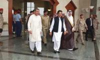 Imran Khan walks barefoot in Madina