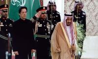 Imran Khan meets Saudi King Salman