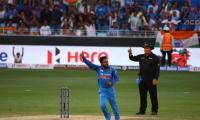 Jadhav, Kumar skittle Pakistan for 162 in Asia Cup