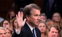 US Supreme Court nominee assault storm fans #MeToo flames