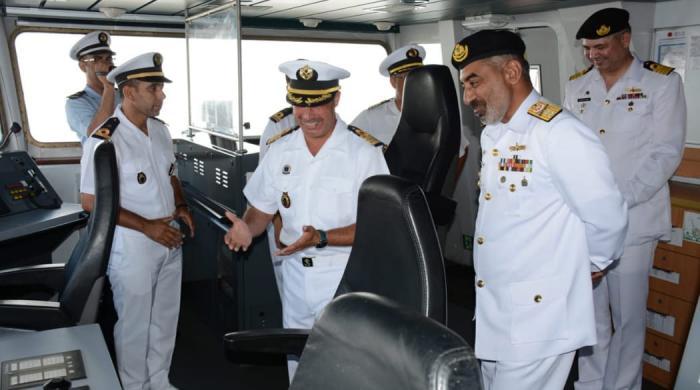 PNS SAIF visits Port Casablanca for training