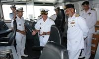 PNS SAIF visits Port Casablanca for training
