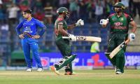Kayes and Mahmudullah lift Bangladesh to 249-7