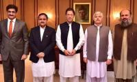PM Imran Khan heads first CCI meeting