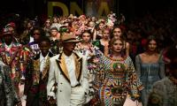 Tool belts and cycling shorts trending at Milan Fashion Week