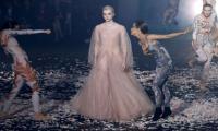 Dior leads Paris fashion in a sensual dance