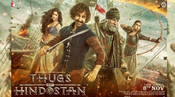 'Thugs of Hindostan' poster revealed: Katrina, Aamir, Amitabh engage in fierce battle