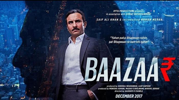 Saif Ali Khan exemplifies power in Baazaar's latest trailer