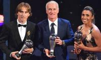 Modric ends Ronaldo-Messi era to be crowned world´s best