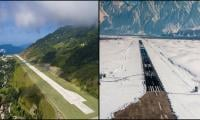 Is India's Sikkim airport more beautiful than Skardu's?