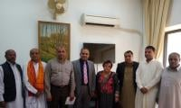Hindu leaders meet rights minister Shireen Mazari