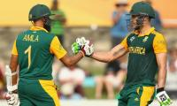 Du Plessis, Amla out of Zimbabwe series