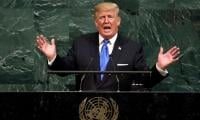 Vowing US first, Trump presses on Iran, trade at UN
