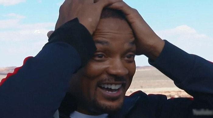 Will Smith feels ´absolute terror´ in Grand Canyon bungee jump