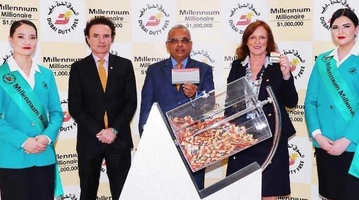 Pakistani man wins $1 million lottery in Dubai