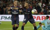 Neymar treble inspires PSG to 6-1 rout of Red Star