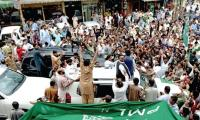 Cases filed against 150 PML-N workers protesting Shehbaz's arrest