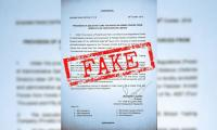 Fact check: Letter requesting 2550 cars for military is fake
