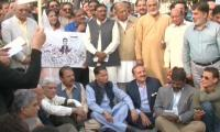 PML-N, opposition parties stage protest over Shehbaz arrest