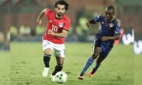 Salah scores direct from corner, strains muscle in Egypt romp