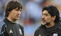 Maradona says Messi is not a leader for Argentina