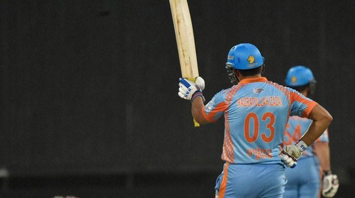 Afghanistan's Zazai smashes six sixes in an over