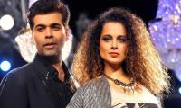 Kangana Ranaut lashes at Karan Johar for keeping silent on #MeToo movement