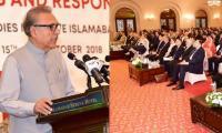 Pakistan pursuing peaceful use of nuclear energy: President Alvi