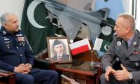 Polish commander calls on Pakistan air chief
