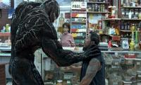 Villainous 'Venom' again rules in North American theaters