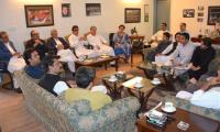 Forward bloc in PTI?