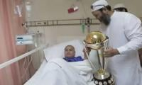 Shoaib Malik's surprise call brings smile to cancer patient