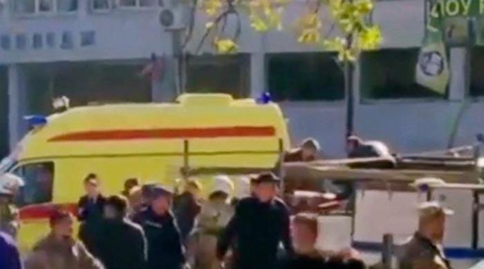 Teenager kills 17 in Crimea college shooting - Russian officials