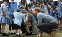 Heart-warming hug for Meghan and Harry in Aussie outback
