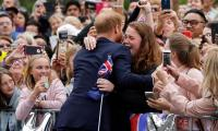 WATCH: Prince Harry breaks royal protocol for his amazing fan