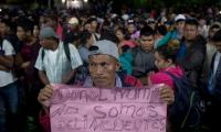 Honduran migrants gather at Mexico border despite Trump threats