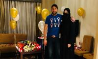 Shahid Afridi celebrates 18th wedding anniversary