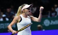 Determined Svitolina ends Kvitova curse in Singapore