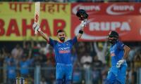 Kohli lauds Sharma partnership as India thrash West Indies