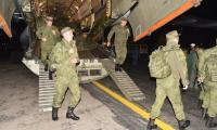 Russian troops in Pakistan for joint militray training