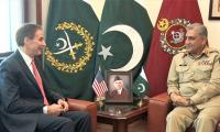 US envoy calls on General Bajwa